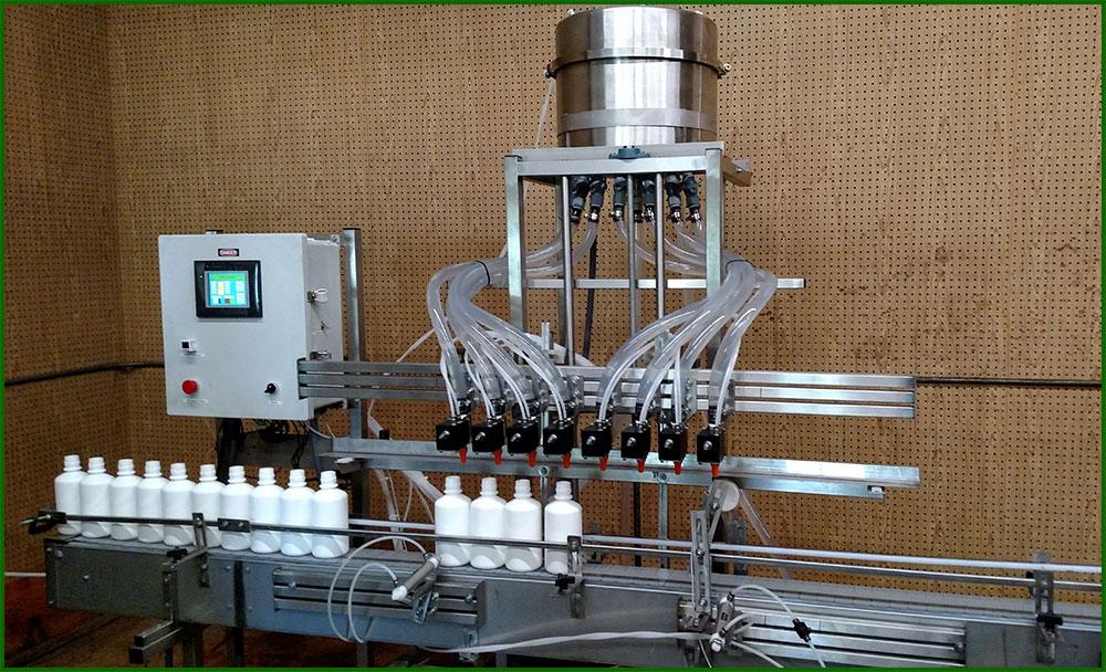 دستگاه پرکن مایعات ثقلی